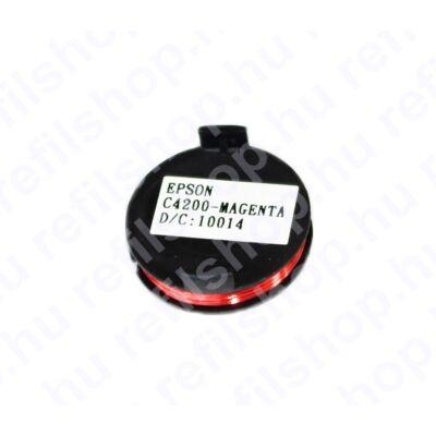 Epson AcuLaser C4200 MAGENTA chip (TW)  8,5K