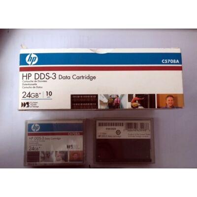 HP DDS-3 Adatkazetta, C5708A, 24GB DDS-3